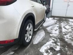 Пороги металлические Mazda CX-5