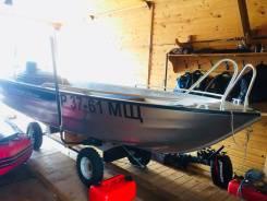 Продажа моторной лодки linder 445 max