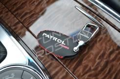 Чехол на брелок иммобилайзера кожа Nissan Patrol Y62 / QX56 / QX80