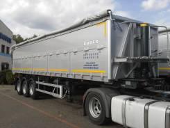 Bodex. Самосвальный алюминиевый полуприцеп-зерновоз 45 куб, 35 000кг.