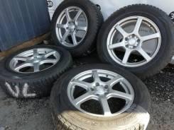 "Комплект литых дисков Laycea на шинах Bridgestone 225/65R17. 7.0x17"" 5x114.30 ET38"