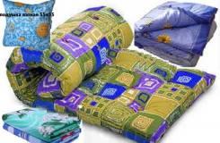 Комплект Эконом для рабочих(матрац+одеяло+подушка+КПБ). В Наличии.