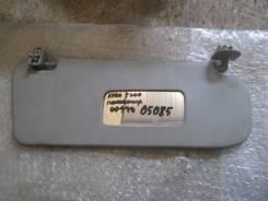 Козырек солнцезащитный правый Chevrolet Aveo (T200) 03-08 после 05