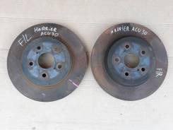 Диск тормозной передний Toyota Harrier ACU30 2AZFE