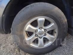 """Оригинальное литье с резиной от Toyota Land Cruiser Prado120 265/65R17. 7.5x17"""" 6x139.70 ET30 ЦО 106,0мм."""