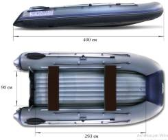 Лодка Флагман 400 U НДНД