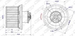 Мотор отопителя салона TOYOTA CAMI 99-05/DAIHATSU MIRA/MOVE/TERIOS/COPEN 05-/MITSUBISHI MINICA/PAJER ST-87104-87401