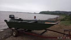 Лодка алюминиевая под мотор джонбот плоскодонка