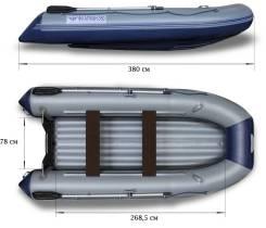 Лодка Флагман 380 НДНД