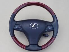 Оригинальный обод руля с косточкой красное дерево Lexus GS 2007-2012