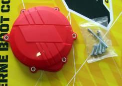 Защита крышки сцепления Honda CRF250R 10-17 красная