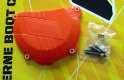 Защита крышки сцепления KTM 250/350SXF/XCF 13-15, 250/350EXCF/XCFW 14-16 оранжевая