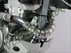 Защита колена глушителя DRC Серый D31-01-110