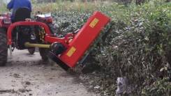 Косилка Мульчер на трактор с валом отбора мощности и боковым подъёмом