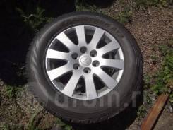 """Продается литой диск с резиной Mitsubishi Pajero. 7.5x18"""" 6x139.70 ET46 ЦО 67,1мм."""