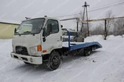 Hyundai HD78. Автоэвакуатор на шасси ломаная платформа (5450-6250 мм. ), 4x2