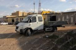 """ГАЗ ГАЗель Бизнес. Кран-манипулятор ГАЗ-33023 Фермер """"ГАЗель"""" с КМУ Hyva HA33, 2 690куб. см., 4x2"""