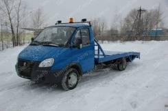 """ГАЗ ГАЗель Бизнес. Автоэвакуатор на шасси ГАЗ-3302 """"ГАЗель-Бизнес"""" ломаная платформа, 4 430куб. см., 4x2"""