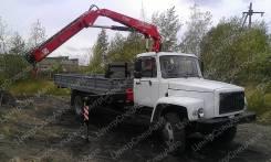 """ГАЗ 3309. Кран-манипулятор ГАЗ-33098 """"ГАЗон"""" с гидравлической КМУ Fassi F85B.0.2, 4 430куб. см., 4x2"""