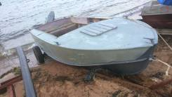 Лодка Прогресс 4 корпус. Есть мотор yamaha25 вместе с телегой+50