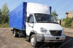 """ГАЗ 33106. Европлатформа на шасси ГАЗ-33106 """"Некст"""" (автомобиль бортовой, тент), 4 430куб. см., 4 420кг., 4x2"""