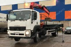 Isuzu Forward. Кран-манипулятор Isuzu FVR34UL-SDUS с КМУ Fassi F215A.0.24, 4х2, 7 790 куб. см., 4x2