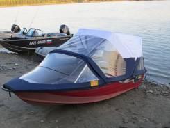 Лодка алюминиевая РЕЙД 370 + тент