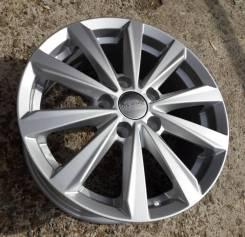 Новые литые диски K&K КС737 на Renault Duster, Nissan Terrano R16