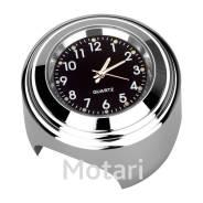 Часы на руль chrome