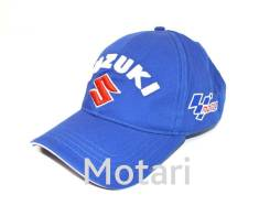 Кепка Suzuki MOTO GP blue (универс.)
