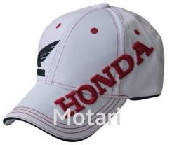 Кепка Honda white (универс.)