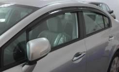 Дефлекторы окон (ветровики) Honda Civic 2012- В Наличии