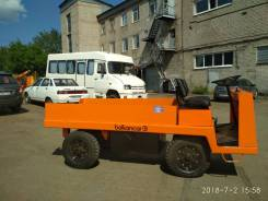 Balkancar ER 35. Электротележка платформенная Balkancar ЕП-011 (3тн), 3 000кг., Электрический