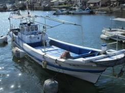 Шхуна Nakajima fishing boat 38 дизель стационар Isuzu UM6BD1