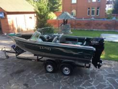 Продам Lund Fisherman 1700 c Suzuki DF 140 A