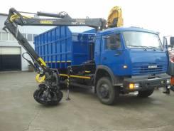 КамАЗ 65115 ломовоз металловоз, 2020