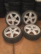 Продам комплект колес Vossen c Porsche Cayenne с летней резиной.