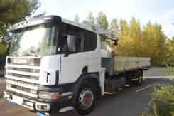 Scania R114. Продам манипулятор Skania R114, 10 300куб. см., 12 000кг., 4x2