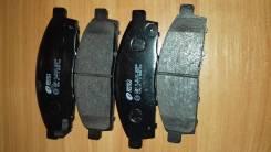 Колодки тормозные дисковые. Mitsubishi: Strada, L200, Pajero, Triton, Nativa, Montero Sport, Pajero Sport Двигатели: 4D56, 4G64, 4N15, 4M40, 4M41, 6G7...