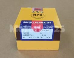 Поршневые кольца 2H +0.5 мм NPR SDT10075ZX 13013-68010