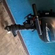 Продам лодочный мотор гладиатор 5 лошадей четырех тактный