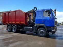 МАЗ. Ломовоз 6312С9-8525-012 Новый с Palfinger VM10L74, 6x4