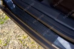 Накладки на внутренние пороги дверей Opel Astra 2006-2012 Опель Астра