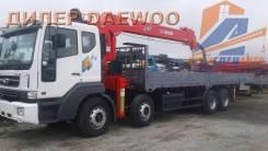 Daewoo Novus. 19 тонн c КМУ Z-ton 1205 (12тонн) - 2018год в Москве, 10 964куб. см., 8x4. Под заказ