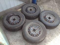 Комплект практически новых зимних колёс на дисках
