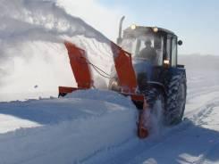 Навесная фрезерно-роторная снегоуборочная машина для тракторов МТЗ
