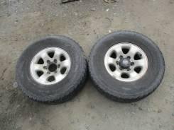 Bridgestone Dueler A/T. Летние, 2011 год, 40%, 2 шт