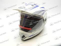 Шлем закрытый, белый (XS)