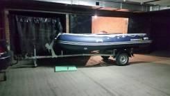 Пвх лодка Solar 420 jet tonel