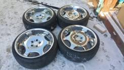 Красивейший комплект VIP дисков R19 AME shallen с шинами в Челябинске